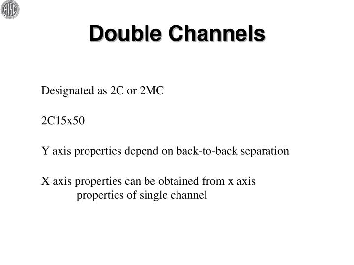 Double Channels