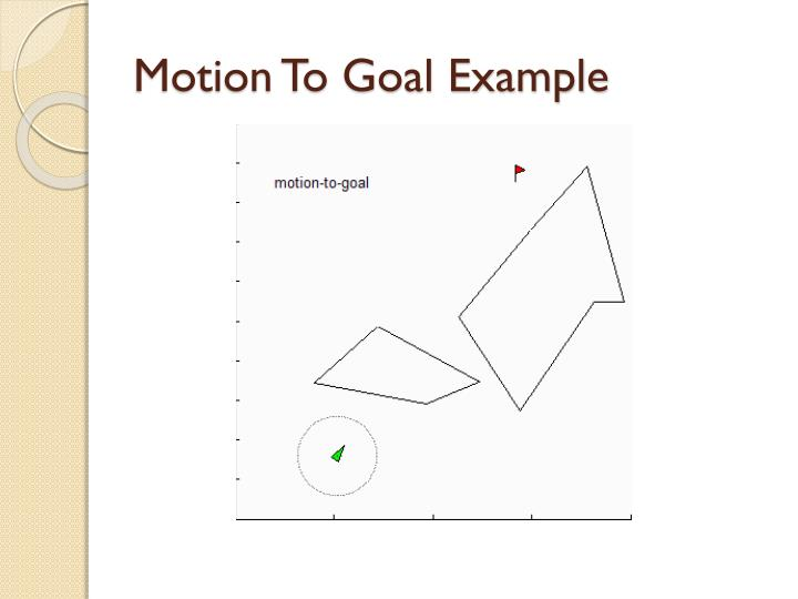 Motion To Goal Example