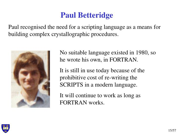 Paul Betteridge
