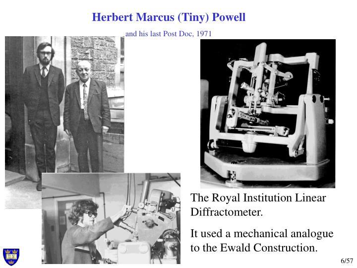 Herbert Marcus (Tiny) Powell