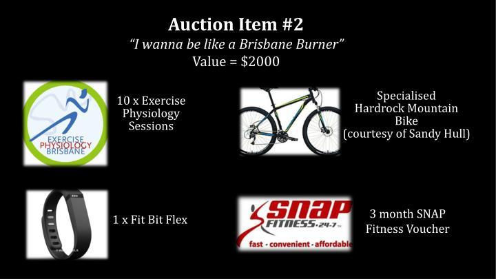 Auction Item #2