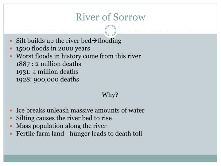 River of Sorrow