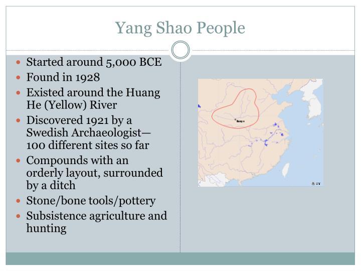 Yang Shao People
