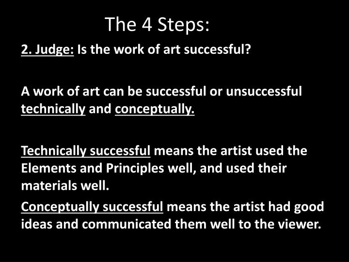The 4 Steps: