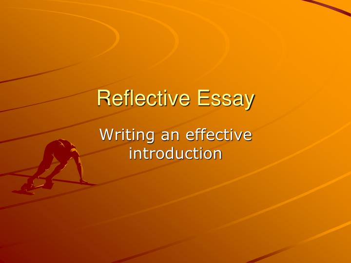 Effective essay writing
