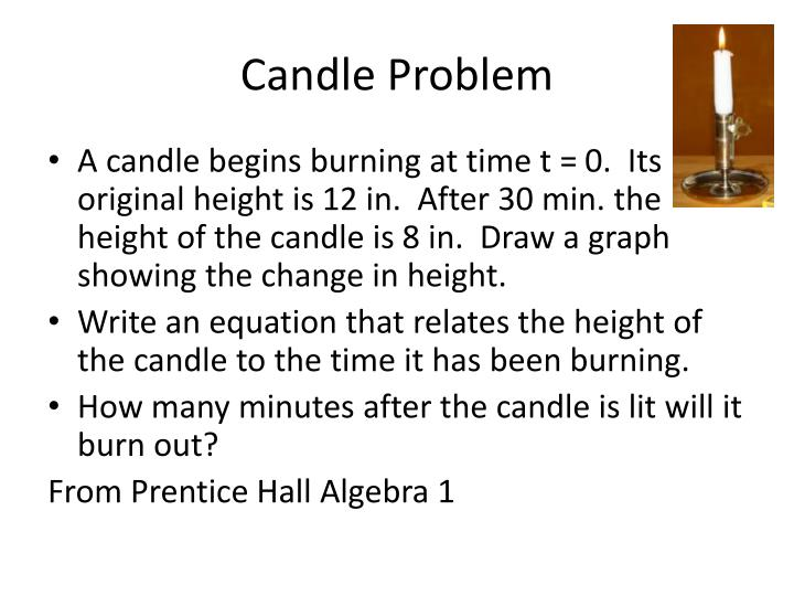 Candle Problem