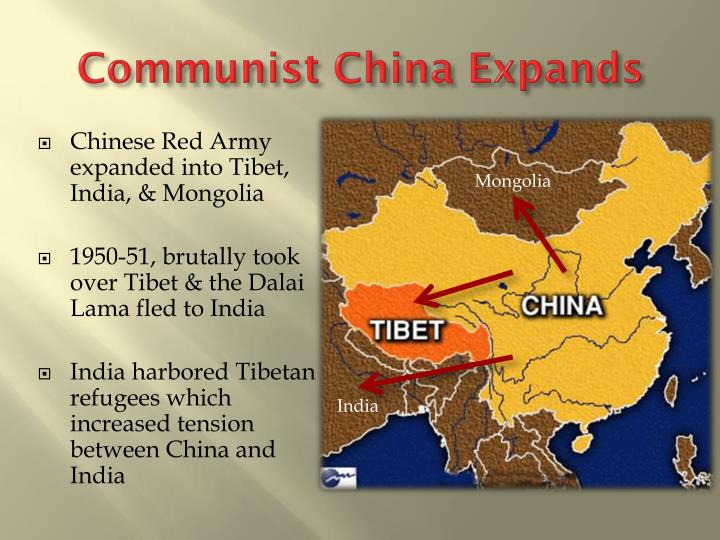 Communist China Expands