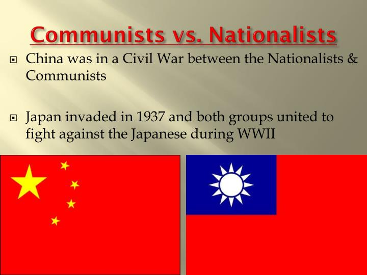 Communists vs. Nationalists