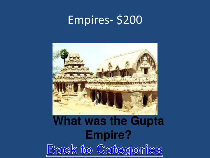 Empires- $200