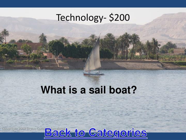 Technology- $200