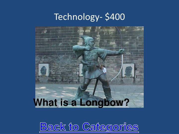 Technology- $400