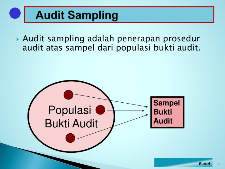 Audit sampling1
