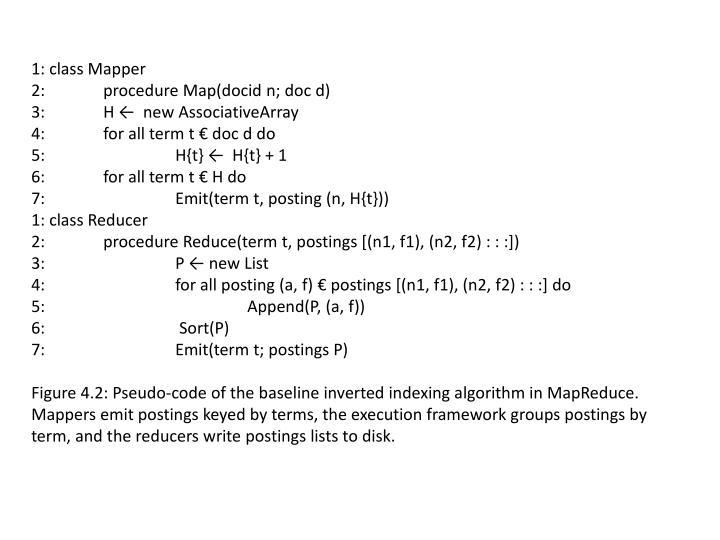 1: class Mapper