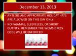 december 13 20131