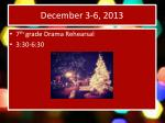 december 3 6 2013
