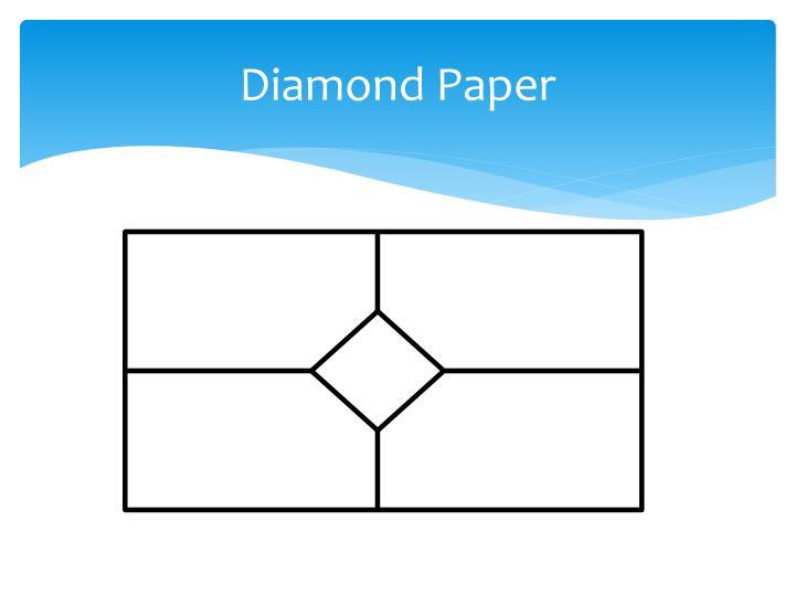 Diamond Paper