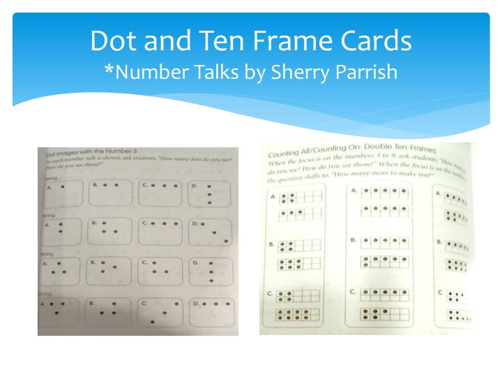 Dot and Ten Frame Cards