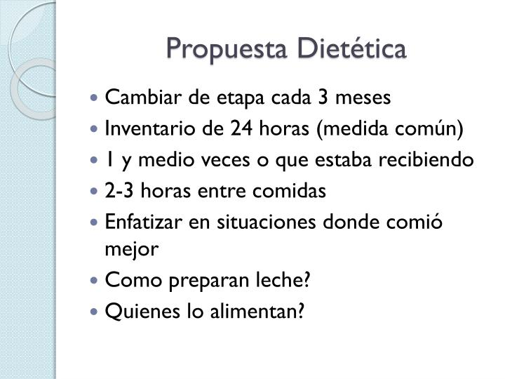 Propuesta Diettica