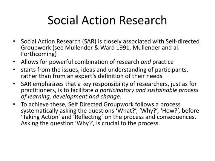 Social Action Research
