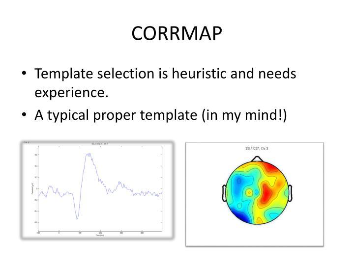 CORRMAP