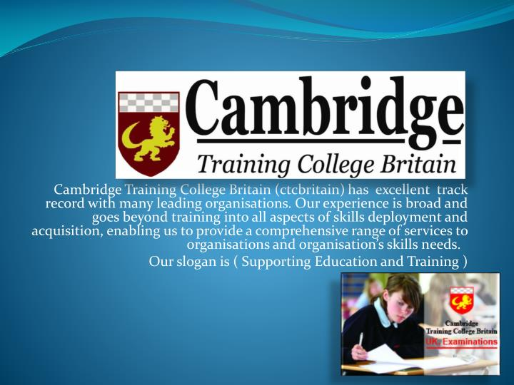 Cambridge Training College Britain (ctcbritain)