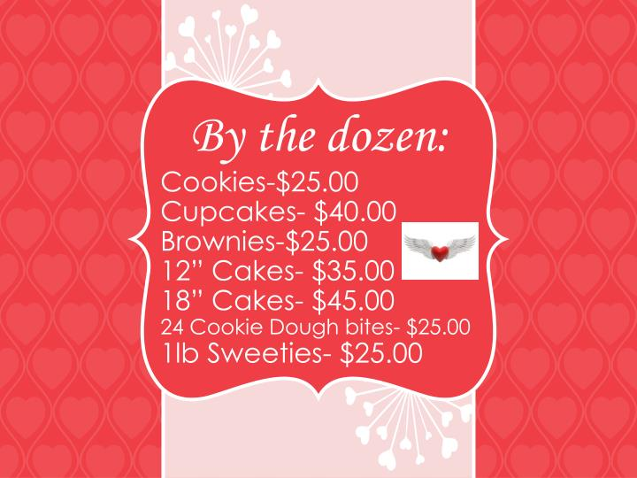 Cookies-$25.00