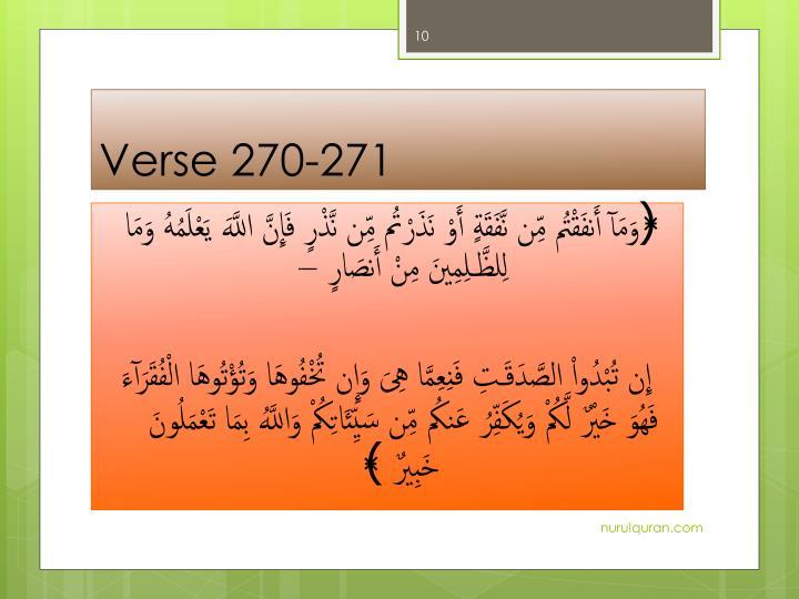 Verse 270-271