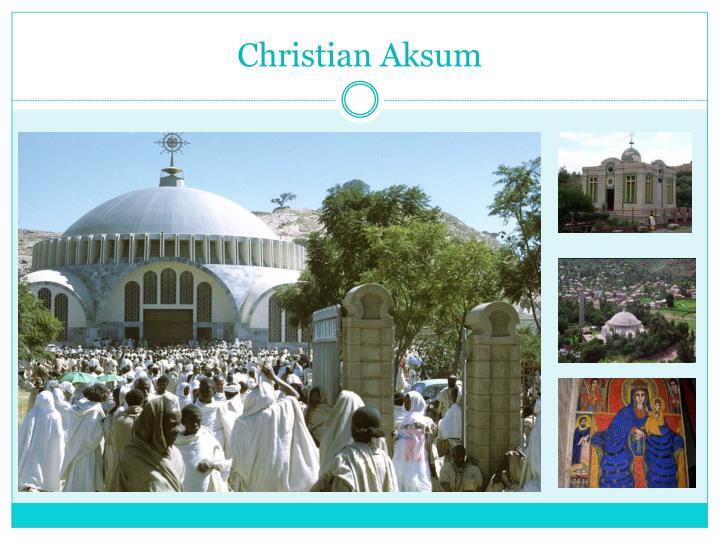 Christian Aksum