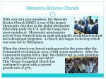meserete kristos church