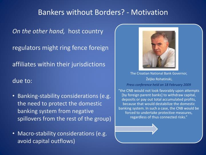 Bankers without borders motivation1