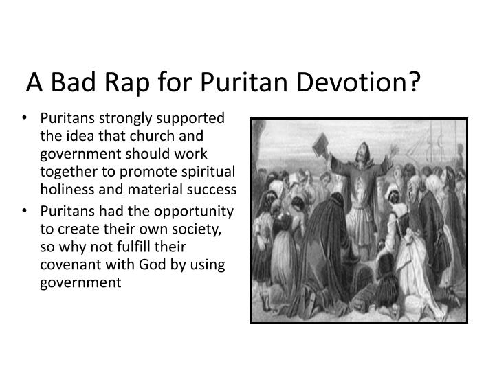 A Bad Rap for Puritan Devotion?