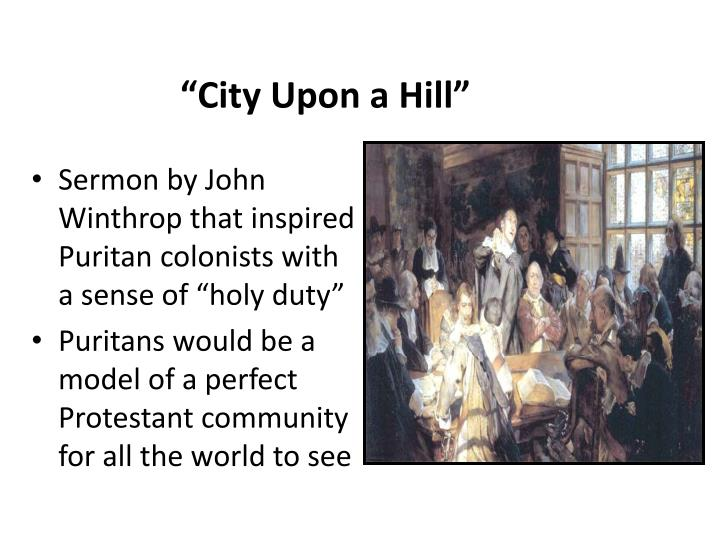 """City Upon a Hill"""