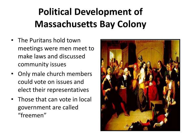 Political Development of Massachusetts Bay Colony