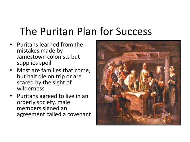 The Puritan Plan for Success