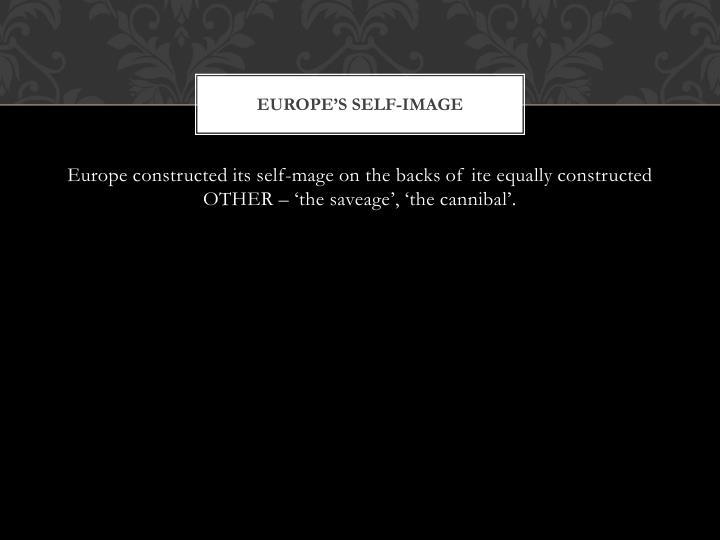 Europe's self-image