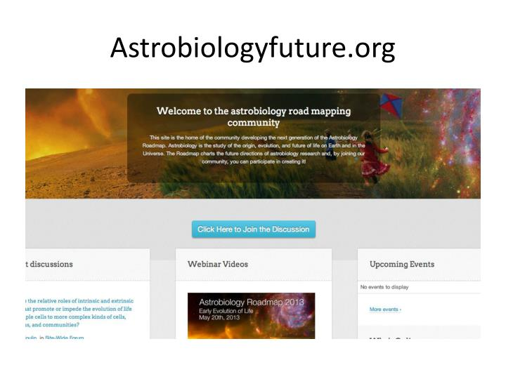 Astrobiologyfuture.org