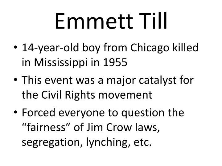 Emmett Till