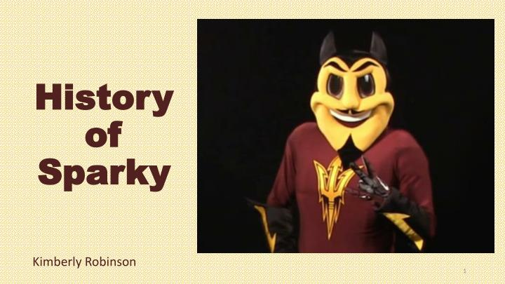 History of sparky