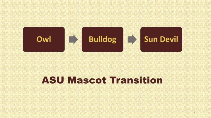 ASU Mascot Transition