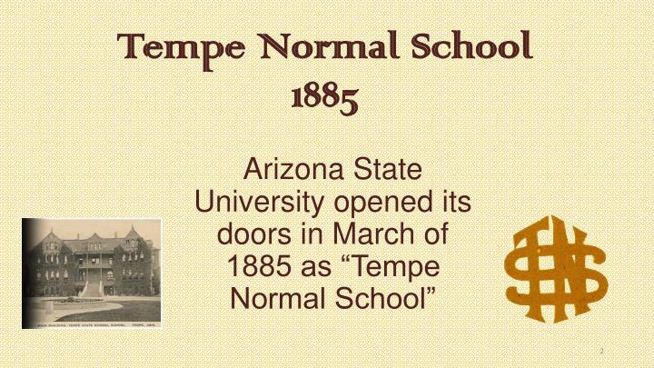 Tempe Normal School