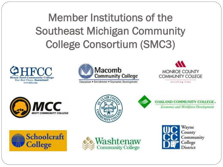Member Institutions of the