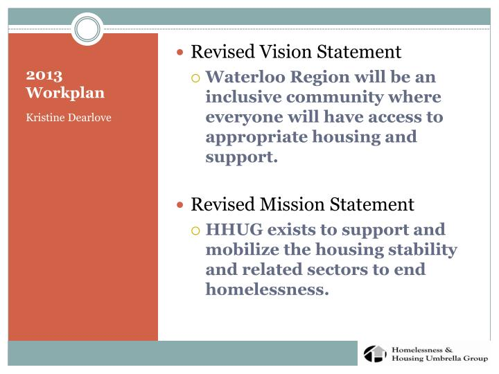 Revised Vision Statement