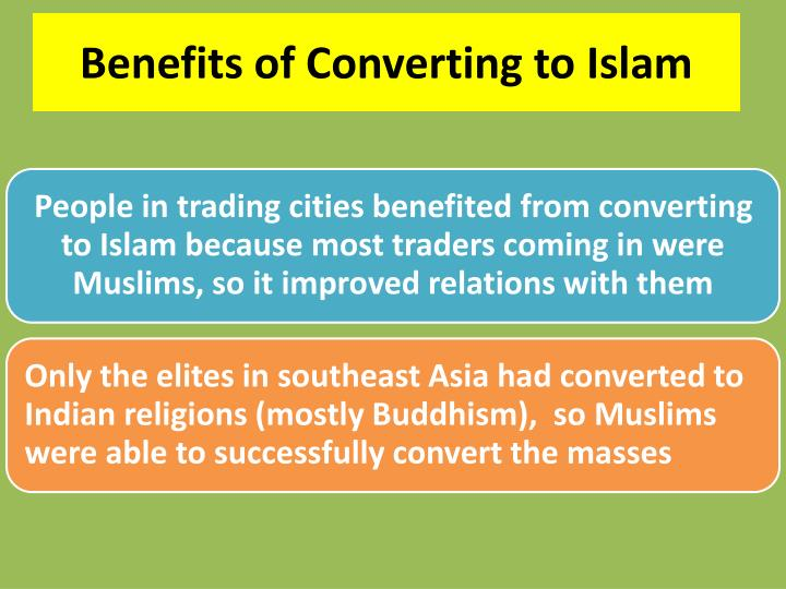 Benefits of Converting to Islam