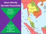 islam mostly s preads p eacefully
