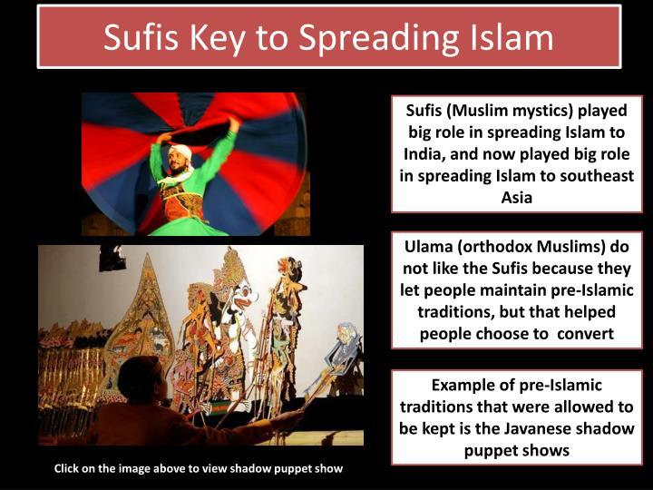 Sufis Key to Spreading Islam