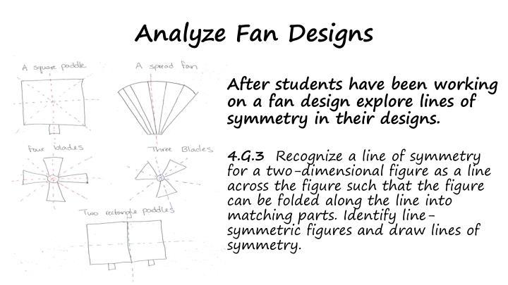 Analyze Fan Designs