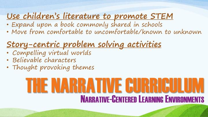 Use children's literature to promote