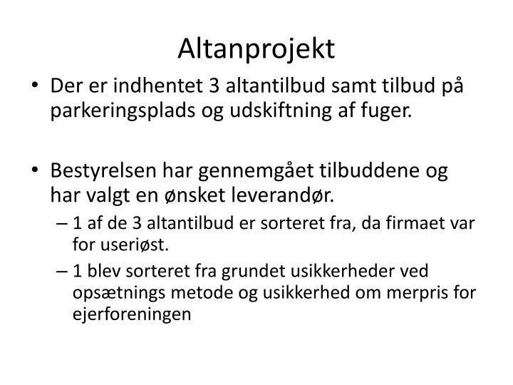 Altanprojekt