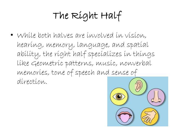 The Right Half