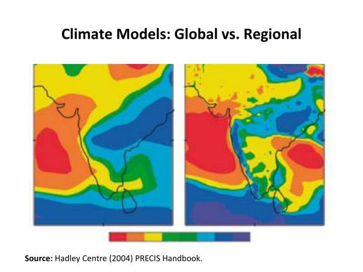 Climate Models: Global
